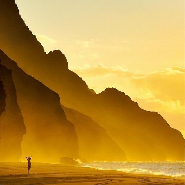 Sunset, Kauai Hawaii